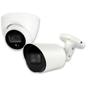 Telecamere per uso interno ed esterno, con ottica fissa e varifocale
